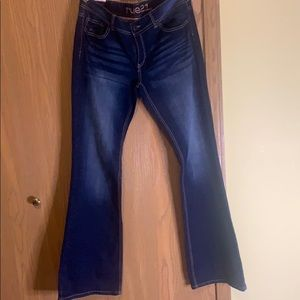New Ladies bell bottom jeans(Low Rise 11/12 Long)